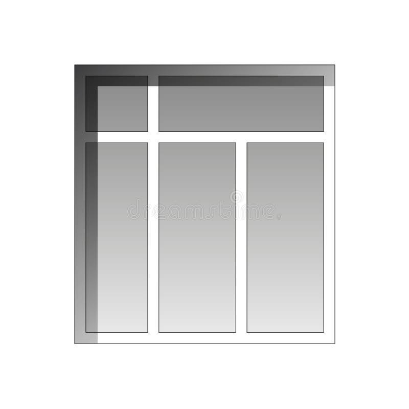 Download Ventana del vector stock de ilustración. Ilustración de daylight - 42432685