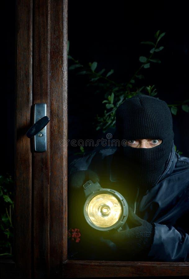 Ventana dos del ladrón fotografía de archivo libre de regalías