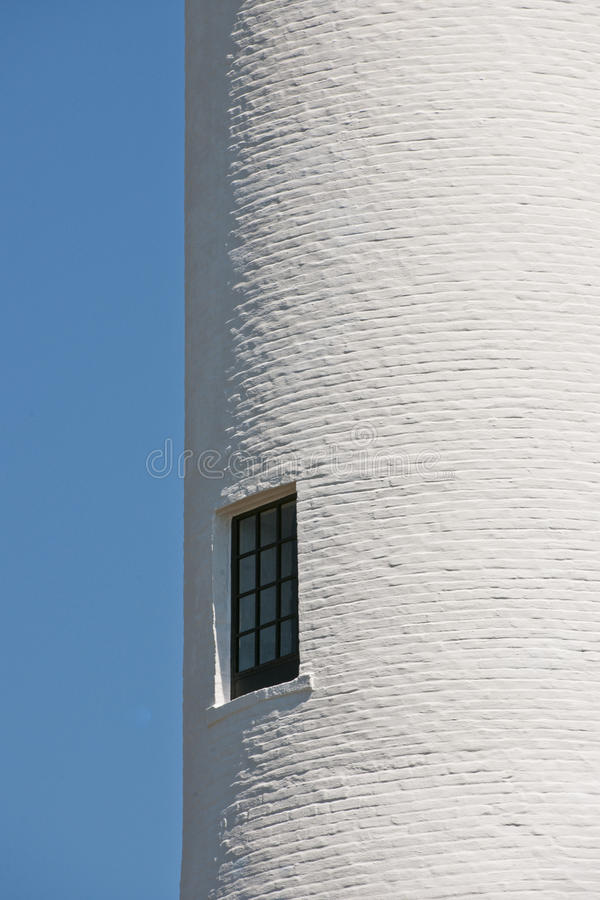 Ventana en torre del faro imágenes de archivo libres de regalías