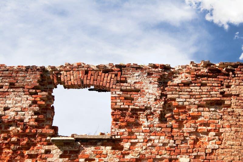 Ventana en un wall-1 fotos de archivo libres de regalías