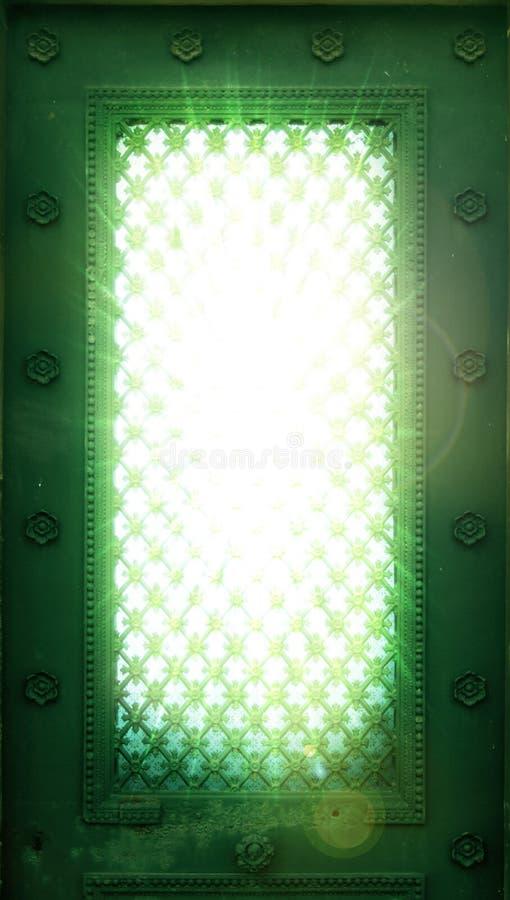 Ventanas de la iluminación fotos de archivo libres de regalías