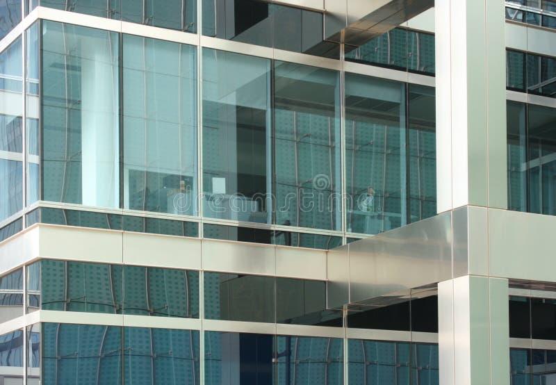 Ventanas de la oficina imagen de archivo