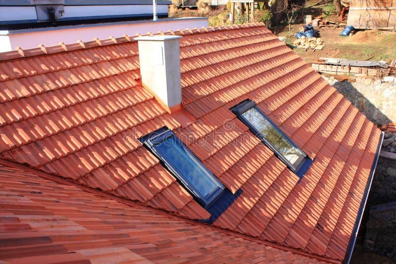 Ventanas del tejado imagen de archivo libre de regalías
