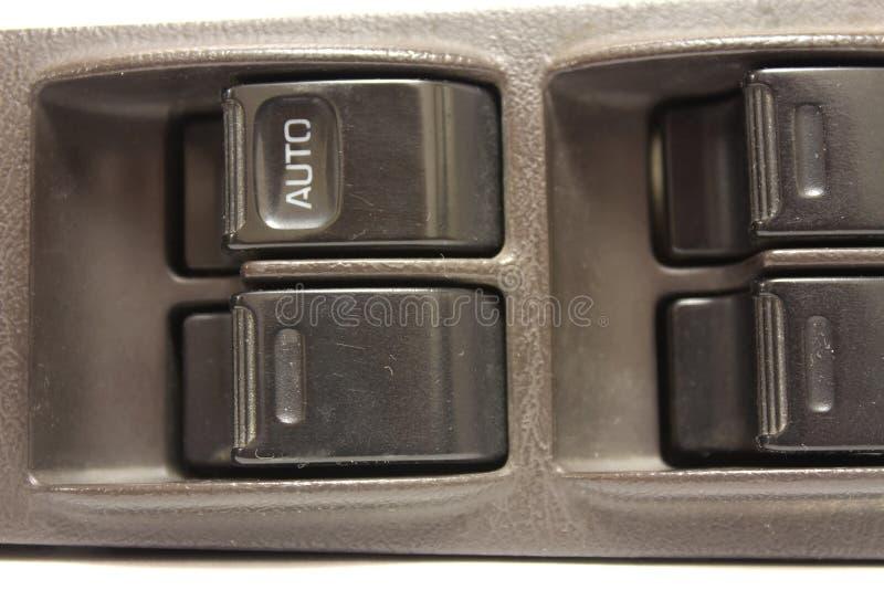 Ventanas eléctricas de la unidad de control fotografía de archivo