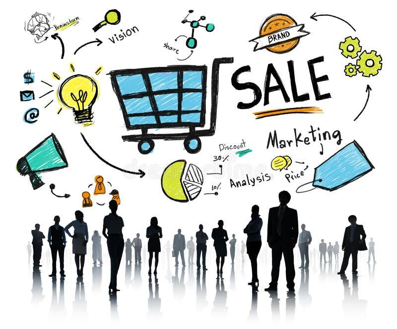 Ventas de la venta que venden concepto del pago de la renta de dinero de los ingresos de las finanzas foto de archivo
