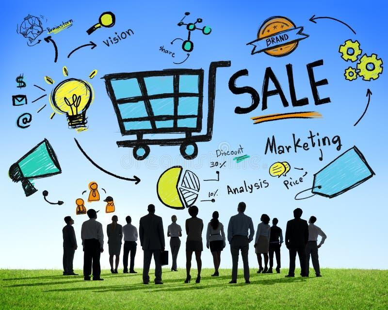 Ventas de la venta que venden concepto del pago de la renta de dinero de los ingresos de las finanzas imagen de archivo