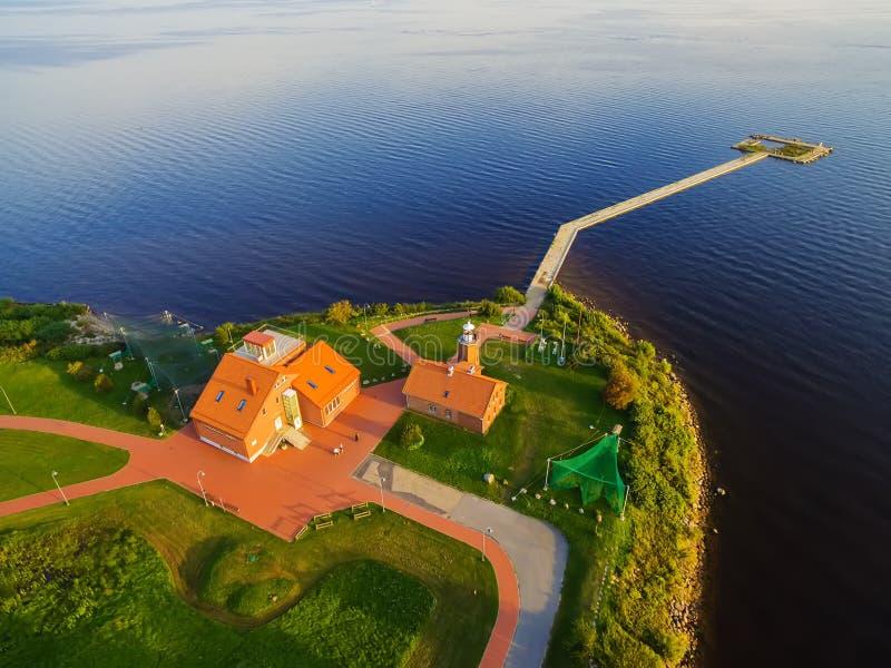 Vente海角在立陶宛,鸟敲响的地方 库存照片