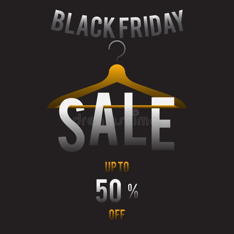 Vente Black Friday illustration de vecteur