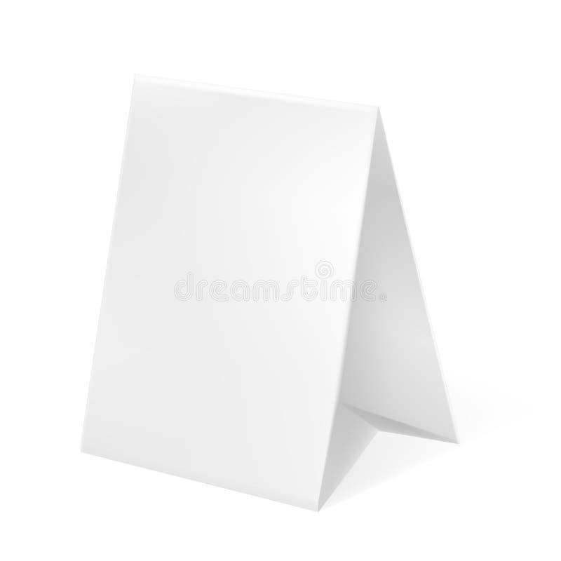 Vente 3D extérieure blanche/publicité de la position POI de gris illustration stock