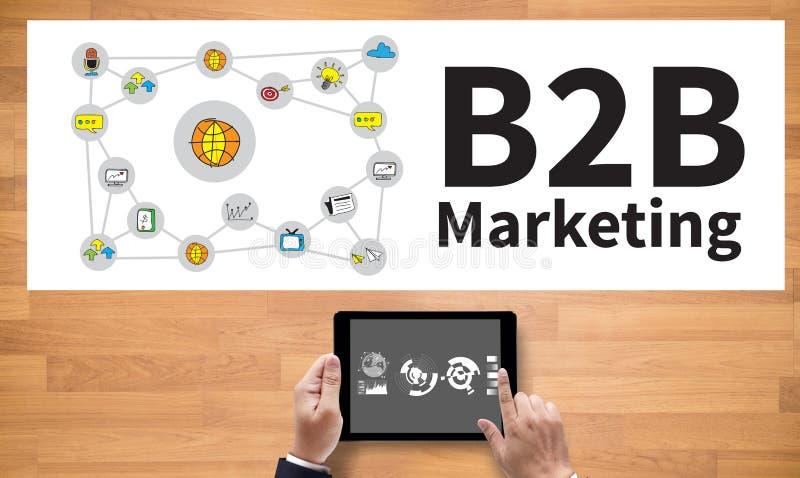 Vente de B2B image stock