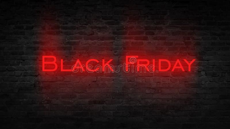 Vente de Black Friday, bannière, affiche image libre de droits