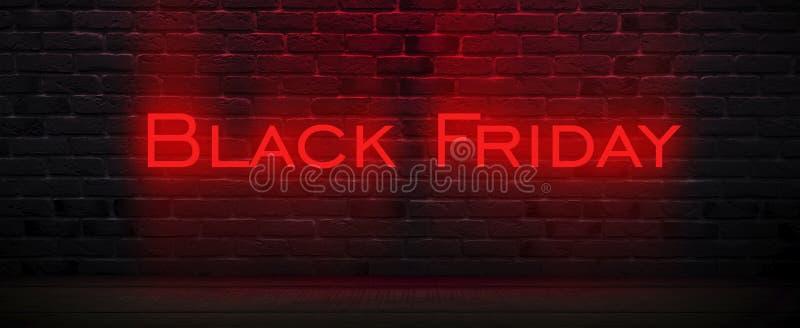 Vente de Black Friday, bannière, affiche image stock