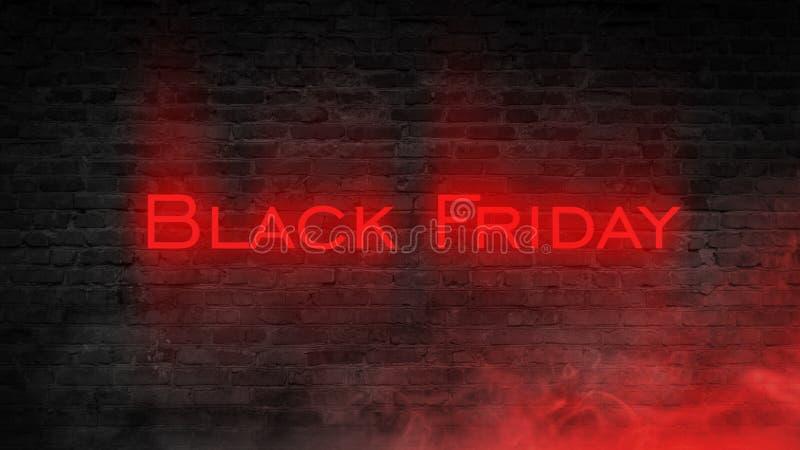 Vente de Black Friday, bannière, affiche photo stock