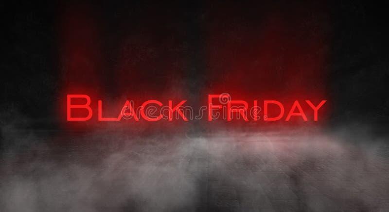 Vente de Black Friday, bannière, affiche photos stock