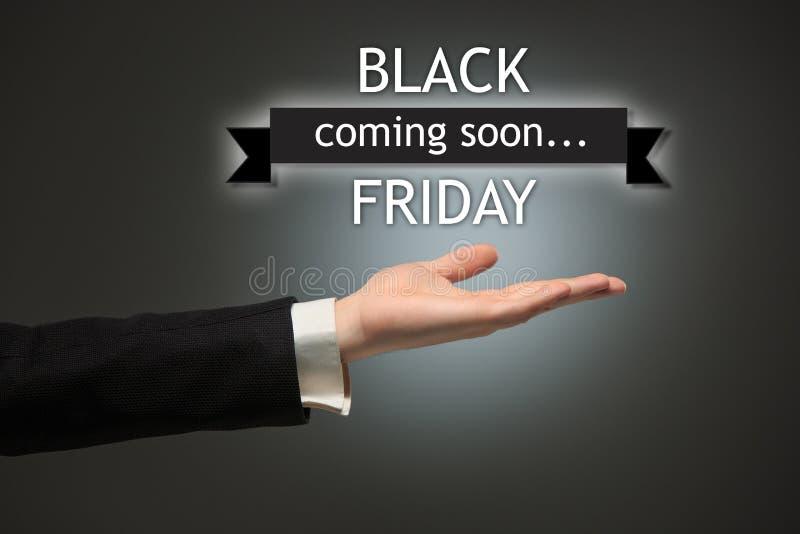 Vente de Black Friday - concept d'achats de vacances images stock