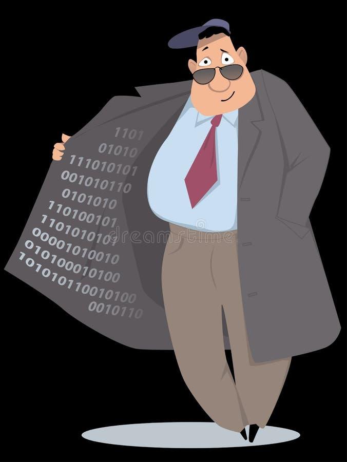 Vente de l'information illustration libre de droits