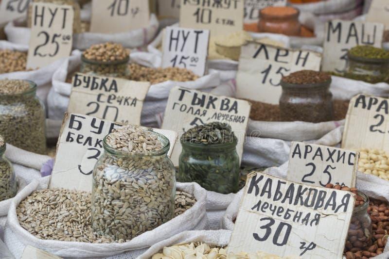 Download Vente De Marché D'épices En Ukraine Les Prix à Payer Sur Chaque Produit Image stock - Image du image, exotique: 76085547