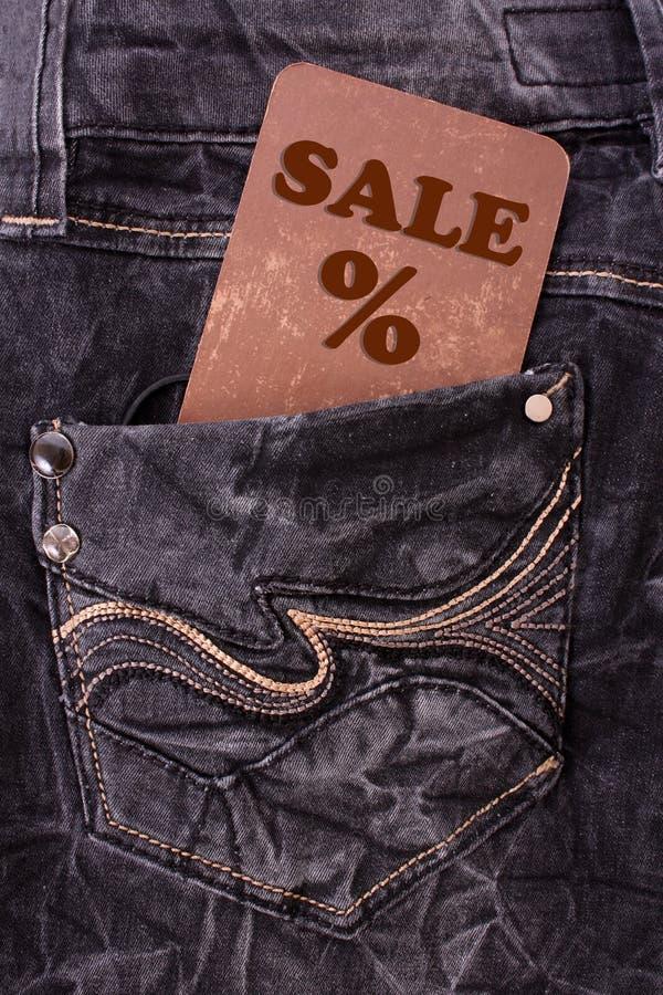 Vente de vêtement photo stock