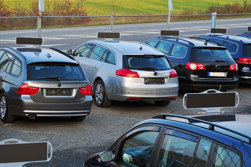 Vente de voitures photo libre de droits