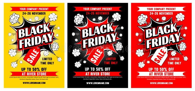 Vente noire de vendredi illustration libre de droits