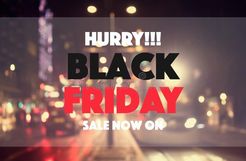 Vente noire de vendredi photographie stock libre de droits