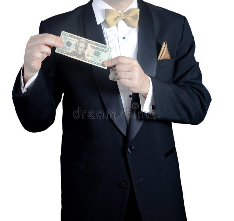 Venti dollari fotografie stock libere da diritti