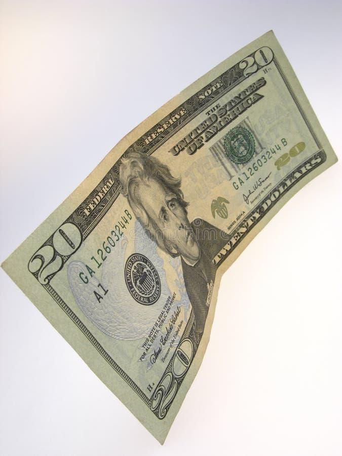 Venti dollari immagine stock libera da diritti