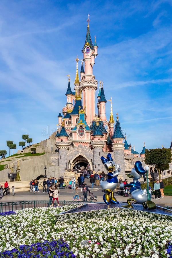 venticinquesimo anniversario di Disneyland Parigi fotografia stock