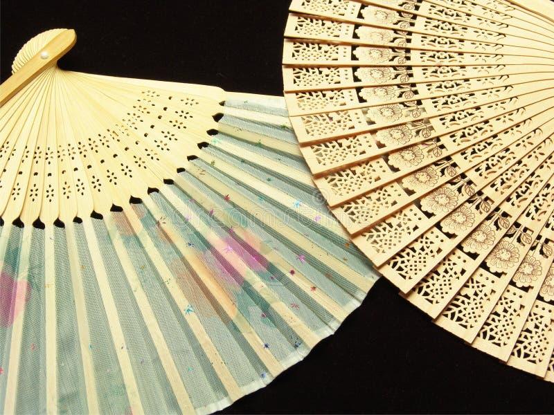 Ventilador da mão de Japão foto de stock