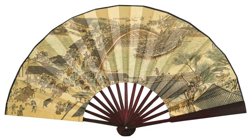 Ventilador de dobramento chinês fotos de stock royalty free