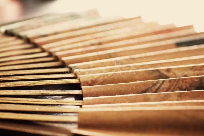 Ventilador de papel imágenes de archivo libres de regalías