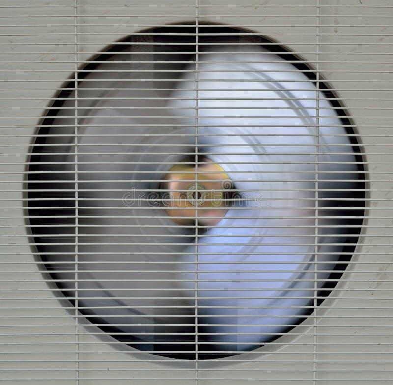 Ventilador de Spining do aircompressor fotografia de stock royalty free