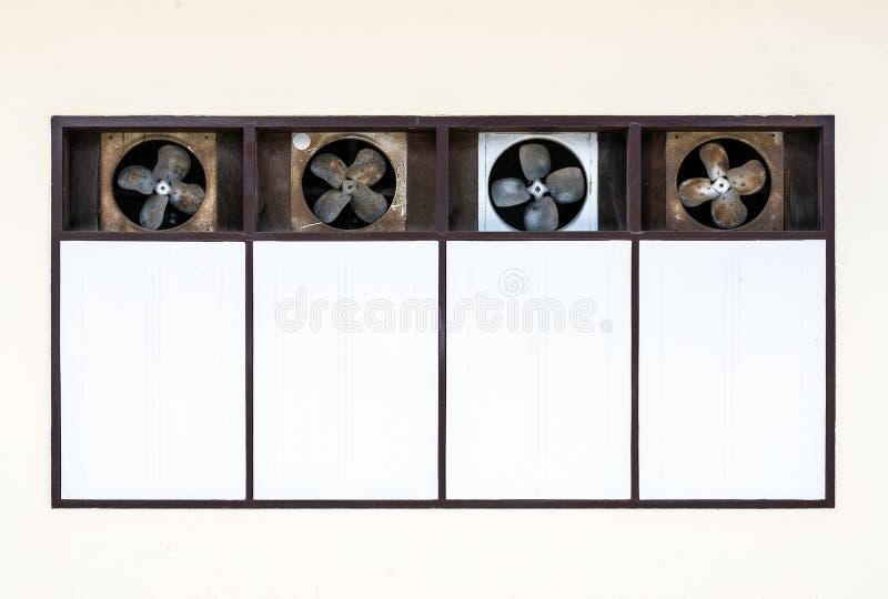 Ventilador de ventilação velho fotografia de stock royalty free