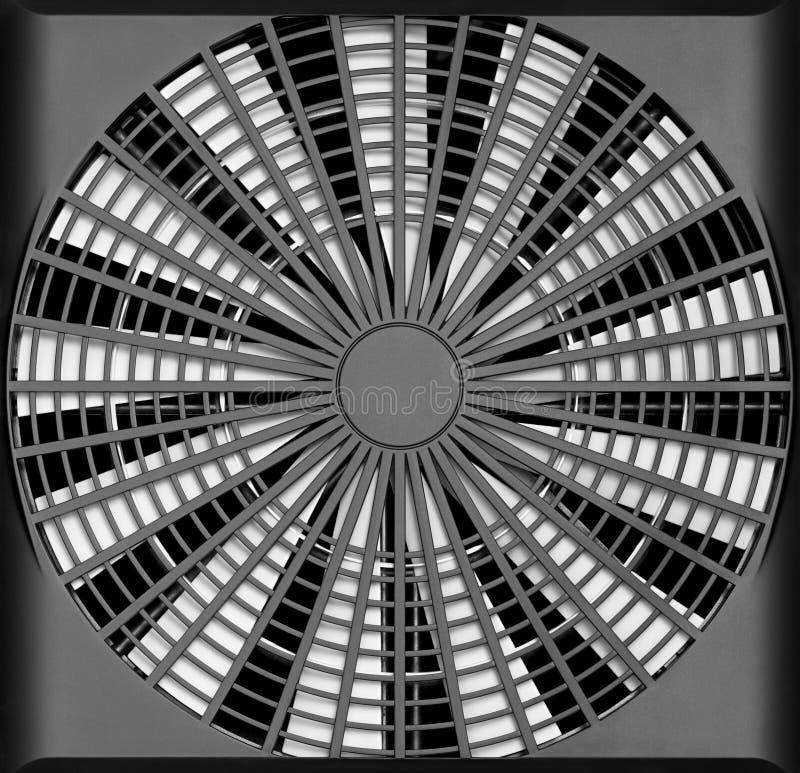 Ventilador de ventilación industrial ilustración del vector