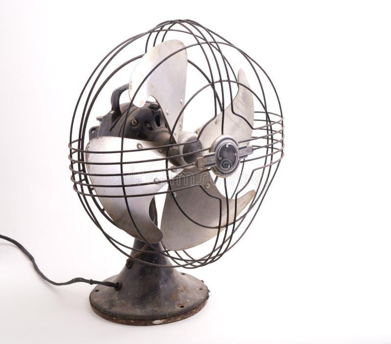 Ventilador eléctrico de la vendimia foto de archivo libre de regalías
