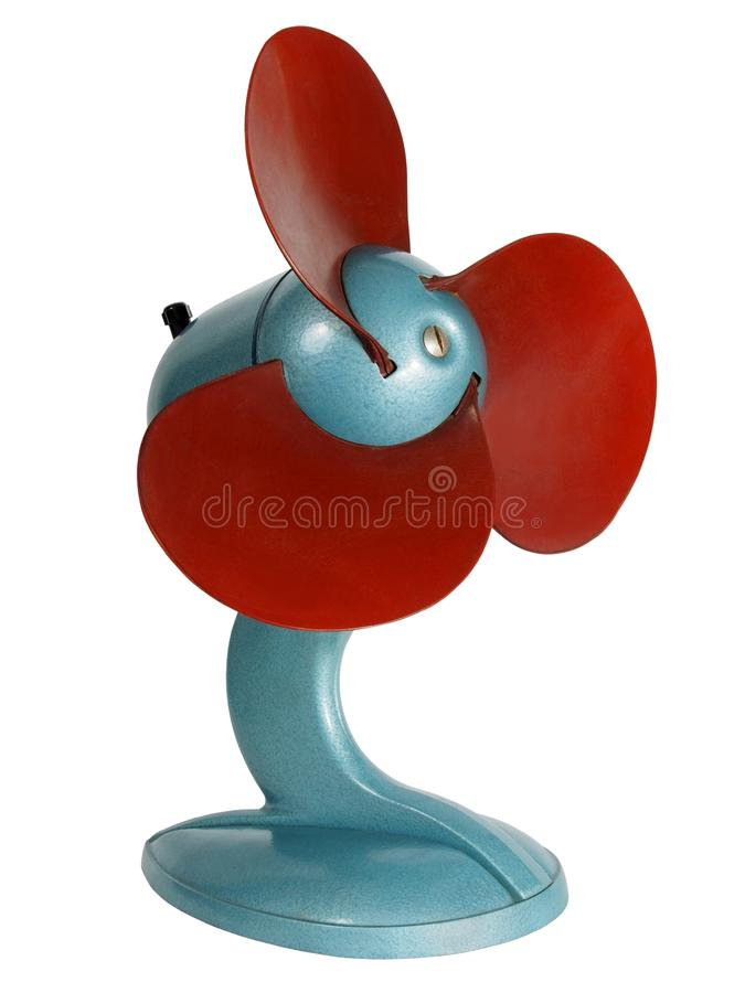Ventilador eléctrico de la vendimia imágenes de archivo libres de regalías