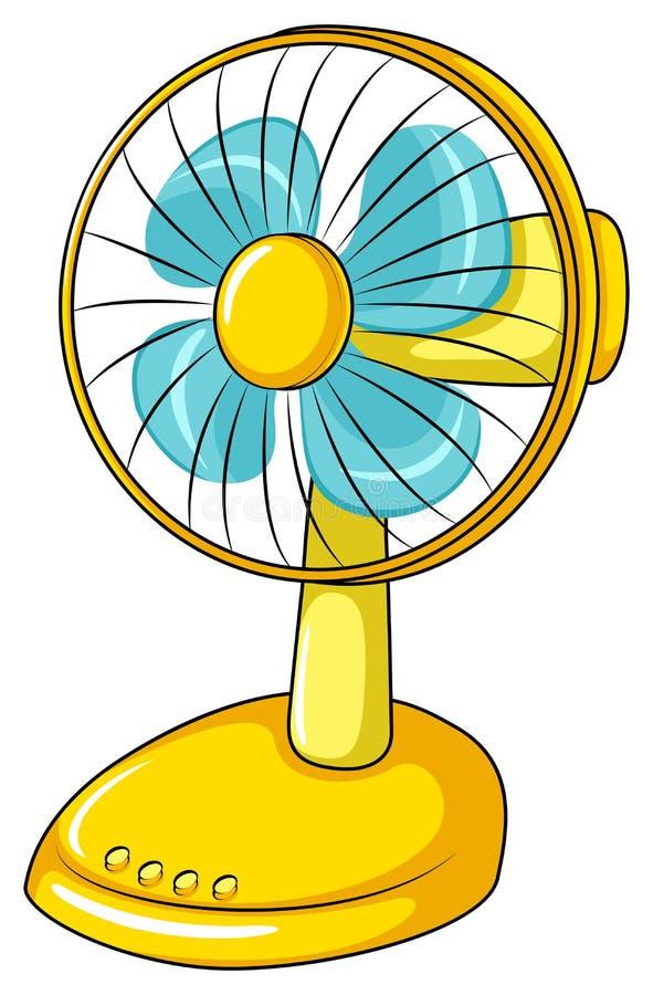 Ventilador elétrico ilustração royalty free