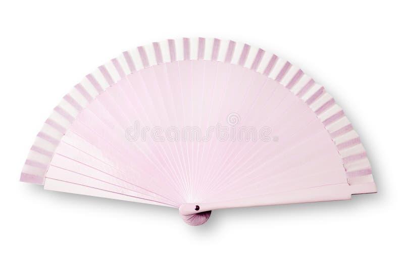 Ventilador rosado foto de archivo libre de regalías