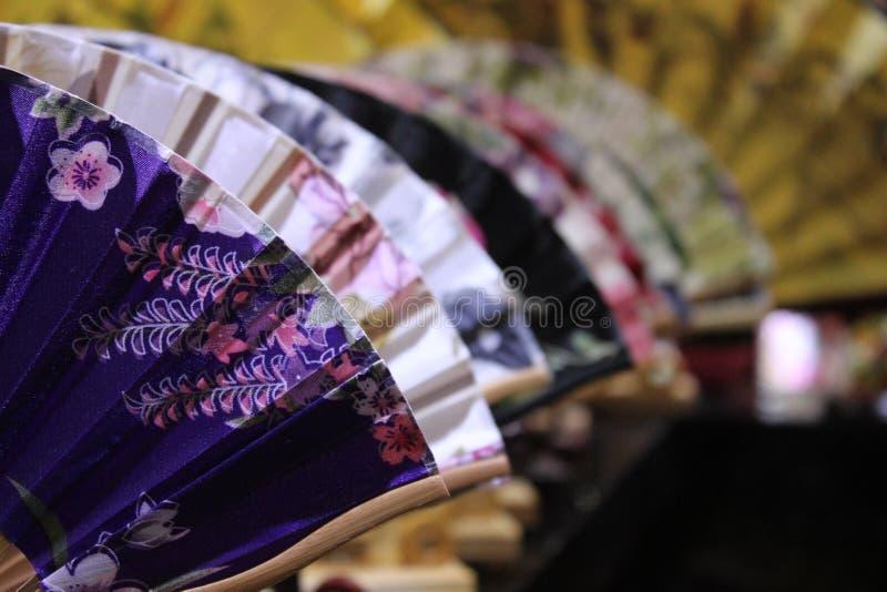 Ventiladores chinos fotos de archivo