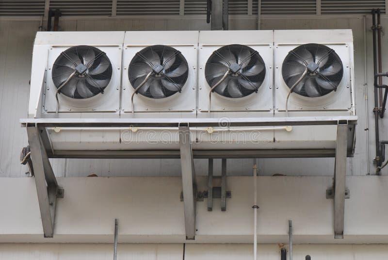 Ventiladores del aire acondicionado foto de archivo libre de regalías
