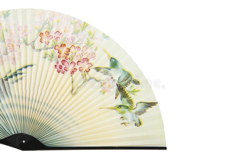 Ventilateur asiatique image stock