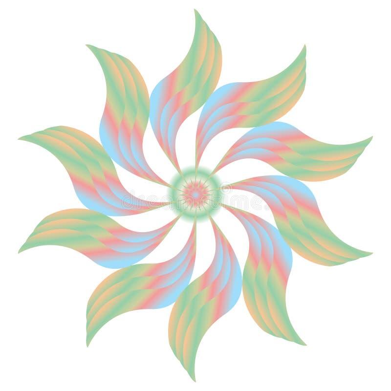 Ventilateur coloré image libre de droits