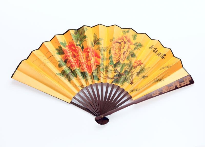 Ventilateur de chinois traditionnel images stock