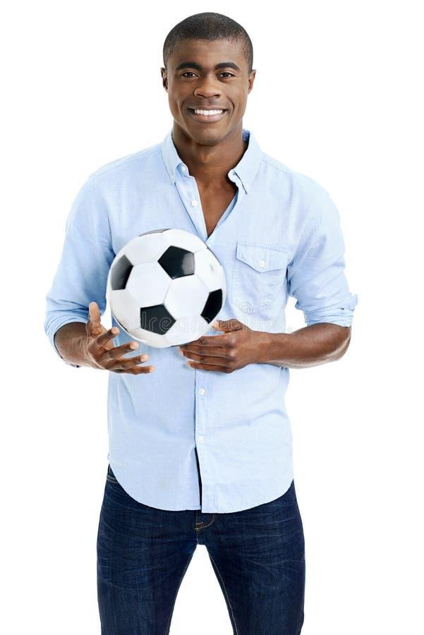 Download Ventilateur De Football Africain Photo stock - Image du mâle, célébration: 45369098