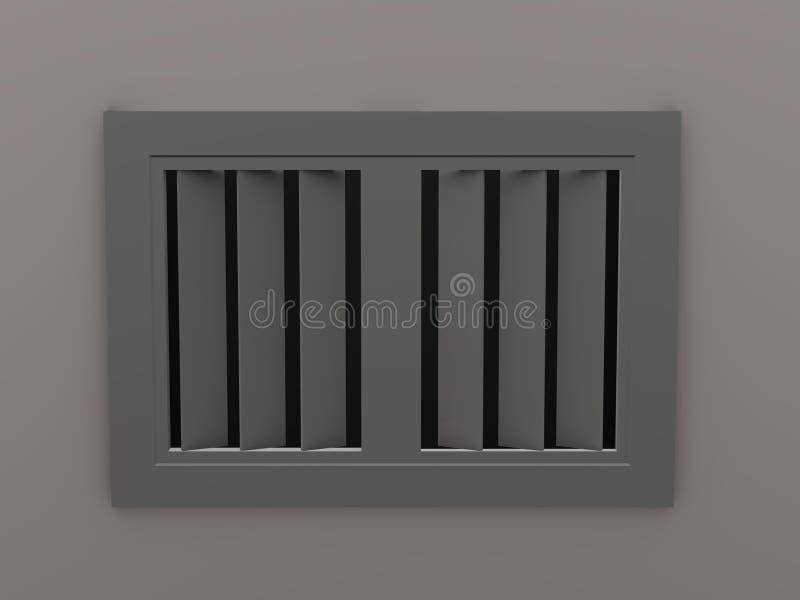 Ventilateur de plafond illustration libre de droits