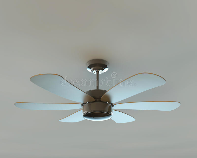 Ventilateur de plafond illustration stock