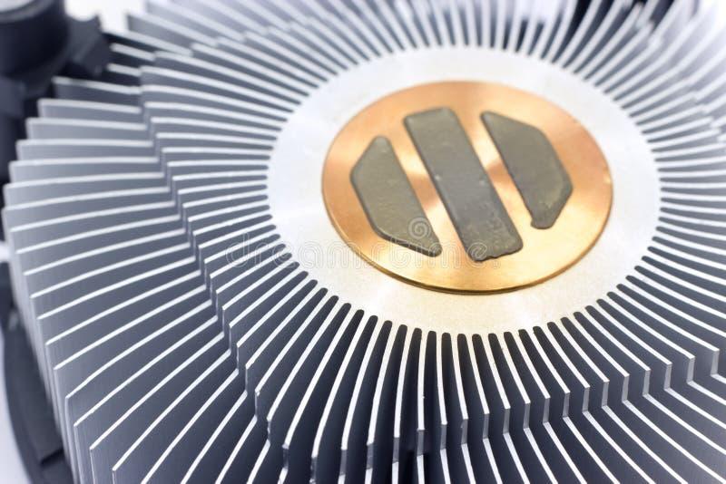Ventilateur de processeur photographie stock libre de droits