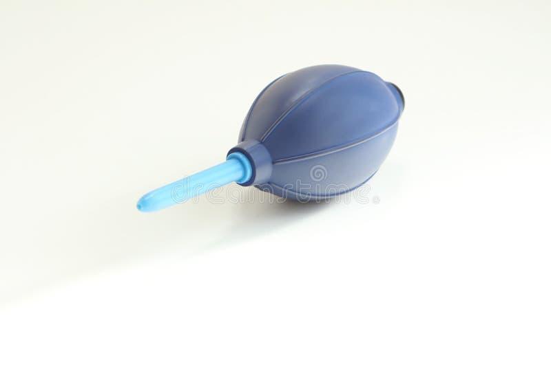 Ventilateur de silicone pour l'appareil-photo et lentilles sur le fond blanc photographie stock