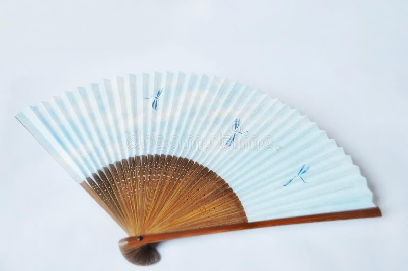 Ventilateur japonais de main photographie stock