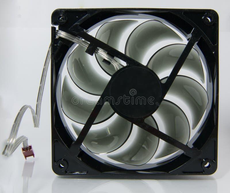 Ventilateur noir photo libre de droits